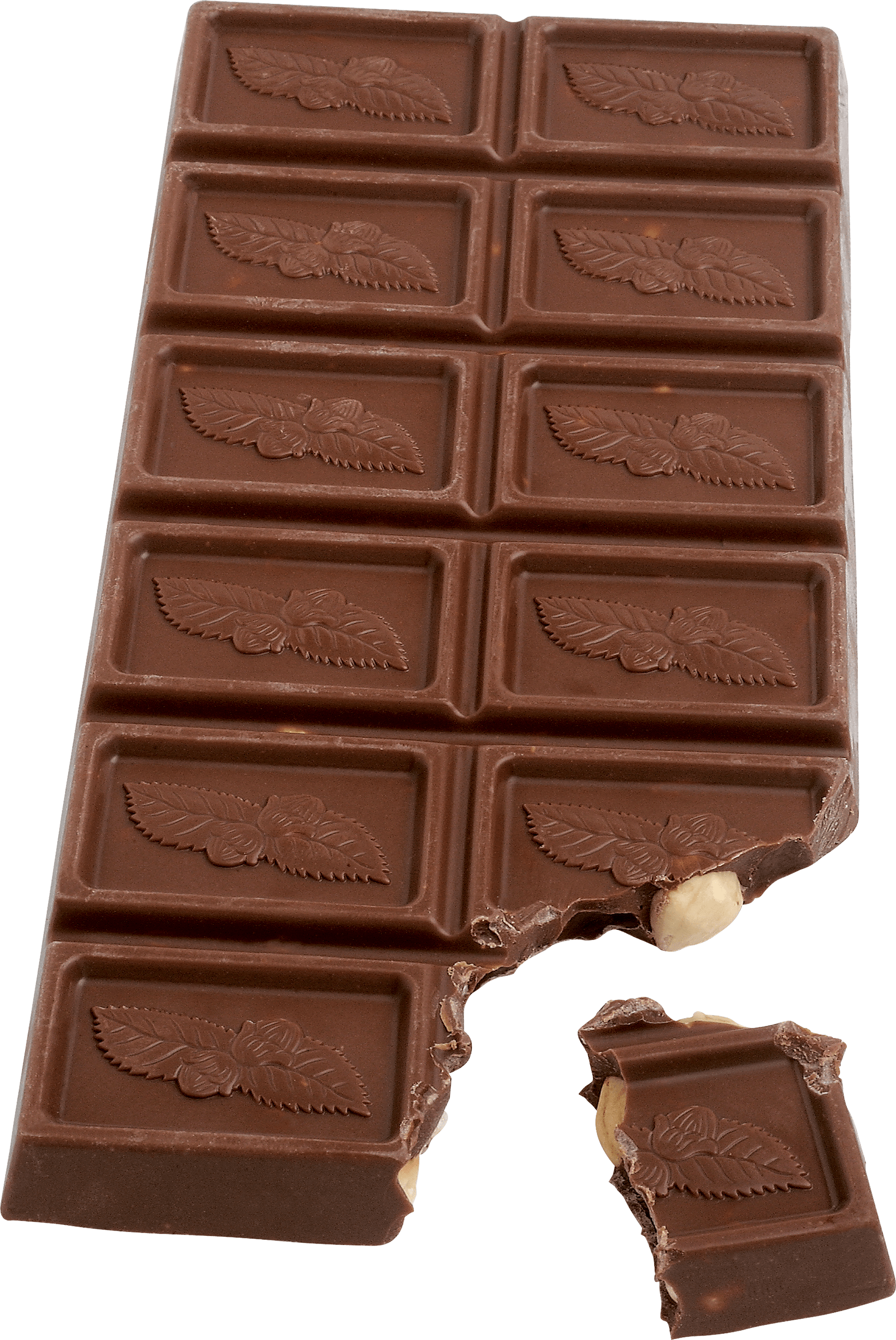 Bar clipart brown chocolate. White transparent png stickpng