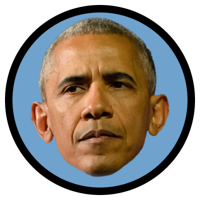 Barack obama face png. When hillary clinton and
