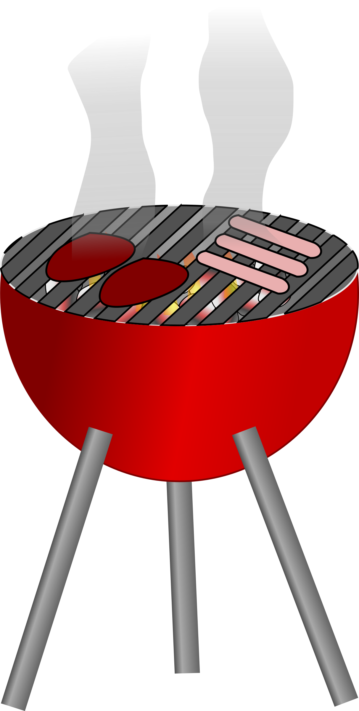 Barbecue clipart animated.
