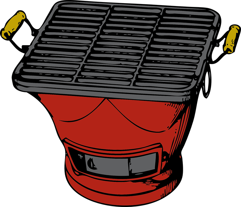 Barbecue vector bbq pit. Png freeuse library