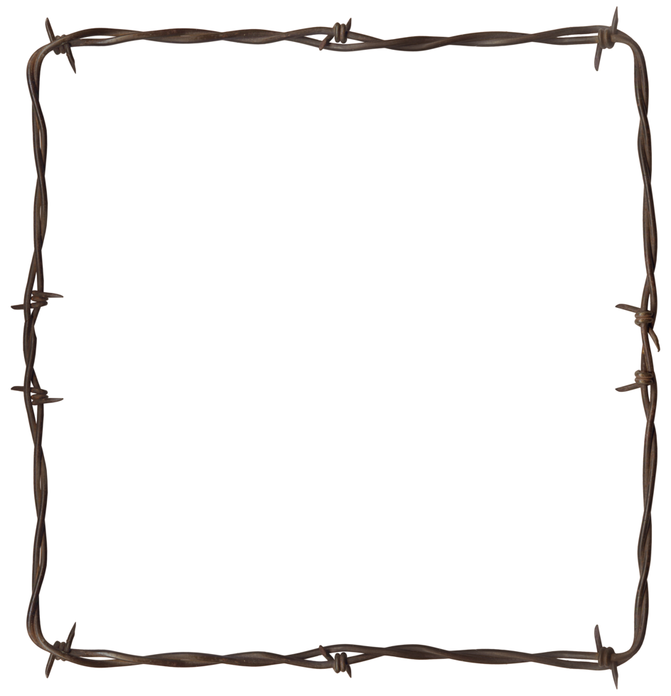 Barbwire image purepng free. Barbed wire border png picture library