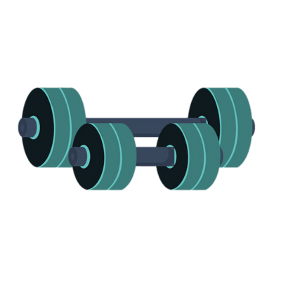 Barbell transparent dumbbell. Traditional clipart png stickpng