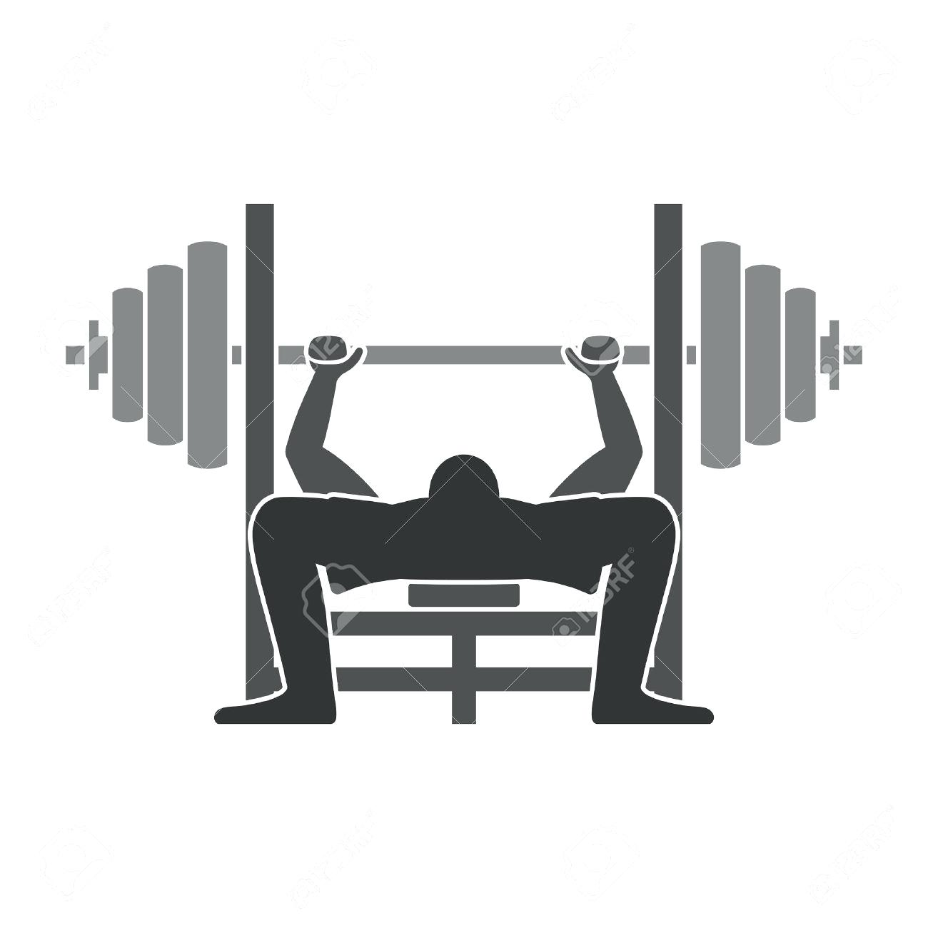 Weight Bench Press Bar Transparent & PNG Clipart Free Download - YA