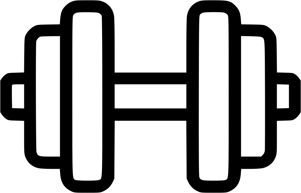 Dumbbell svg. Png icon free download