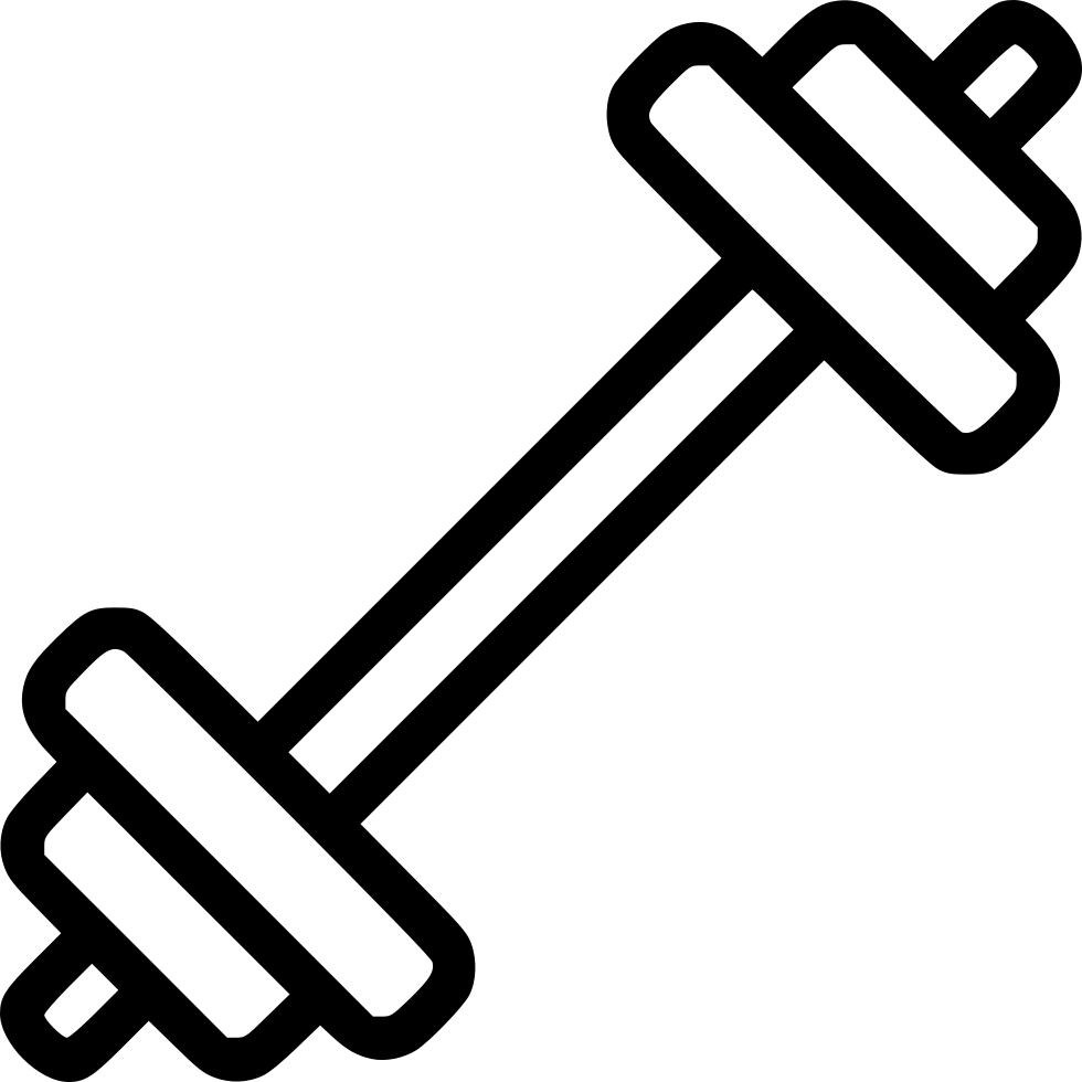 Barbell icon png. Svg free download onlinewebfonts
