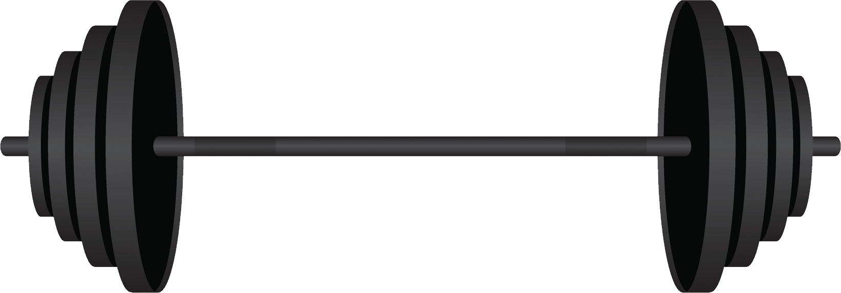 Transparent bars weight. Barbell png images free
