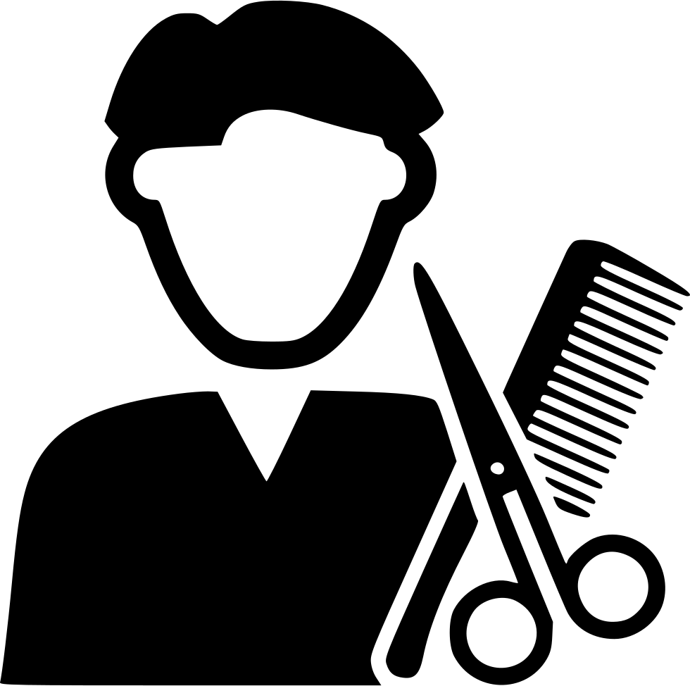 Barber clip file. Svg png icon free