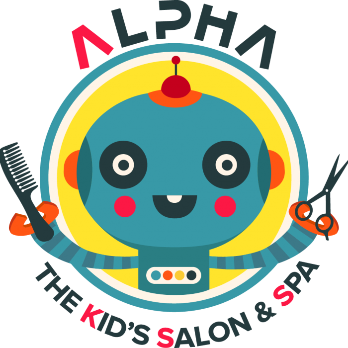 Barber clip kid haircut. Alpha the kids salon