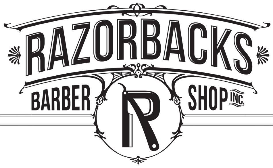 Barber clip section. Razorbacks the parlor shop