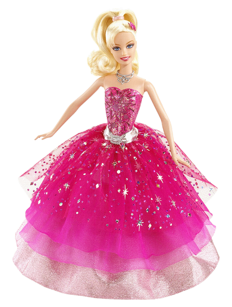 Barbie clip toy. Png image purepng free
