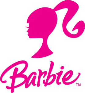 Barbie clip vector. Logo eps free download