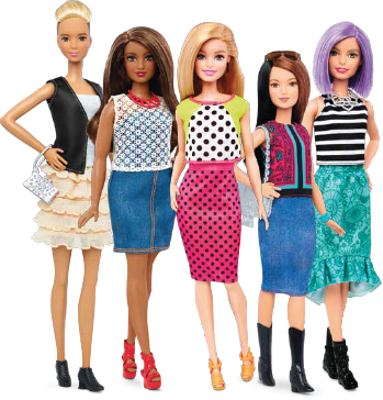 Barbie clip watch. Build your style squad