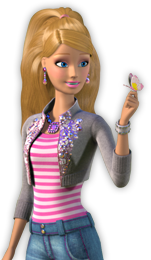 Barbie clip watch. Day at the beach