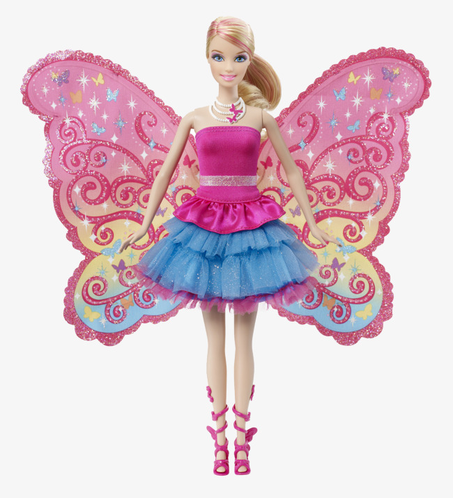 Barbie clipart doll barbie. Cute toy png image