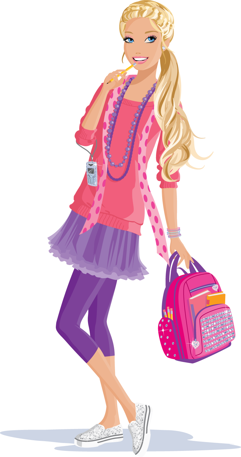 Barbie clip. Pinterest doll art and