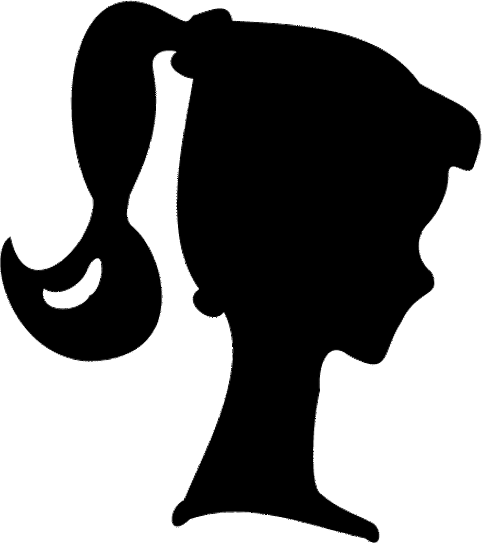Barbie silhouette png. Printable free at getdrawings