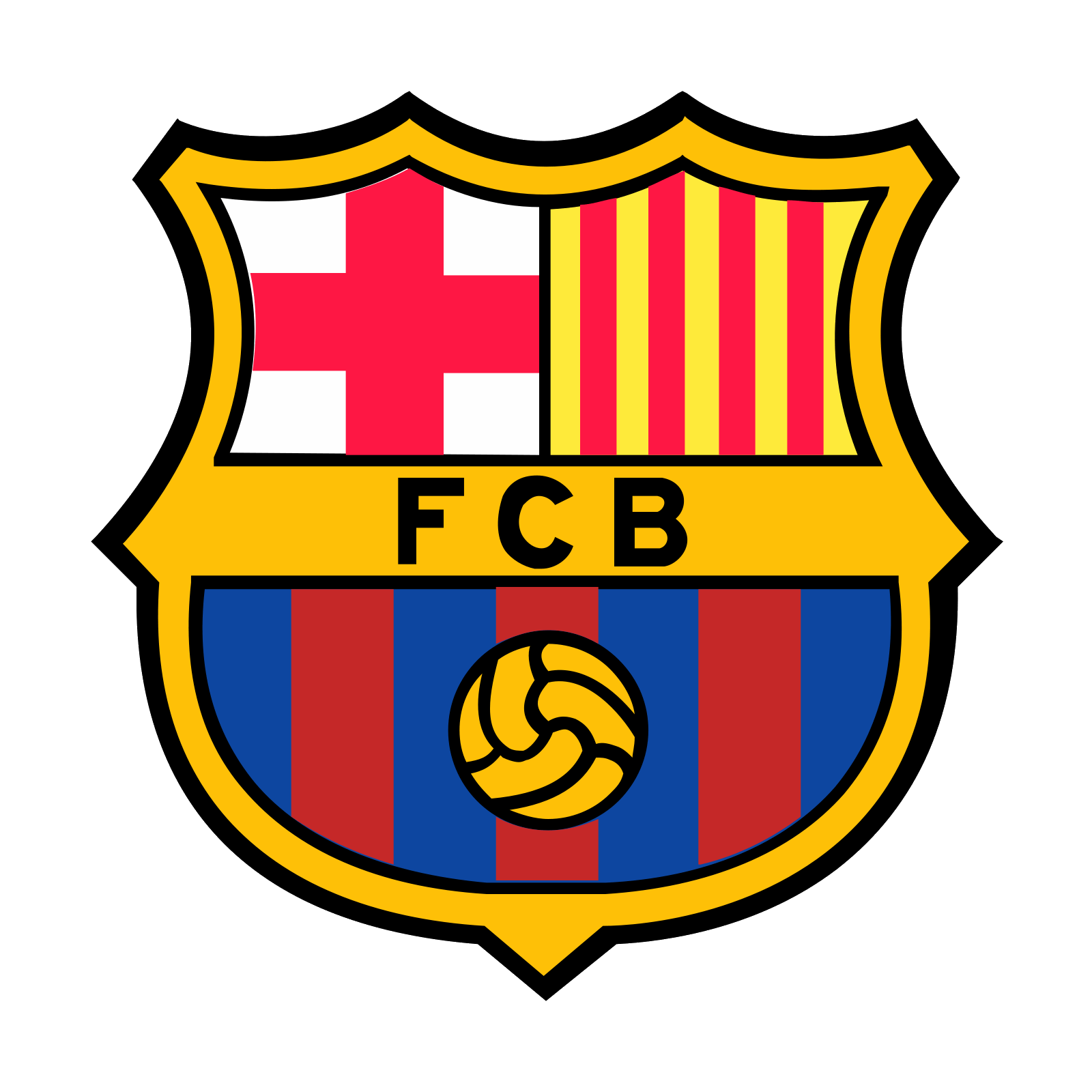 Barcelona logo png. Fc icon free download