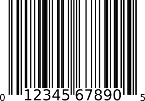 Book barcode png