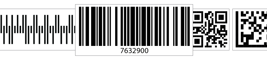 Barcode drawing. Software components generator sdk
