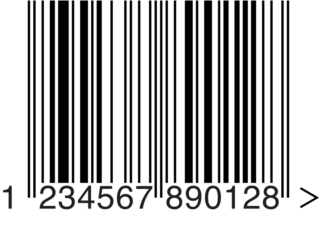 Barcode png. File example svg wikimedia