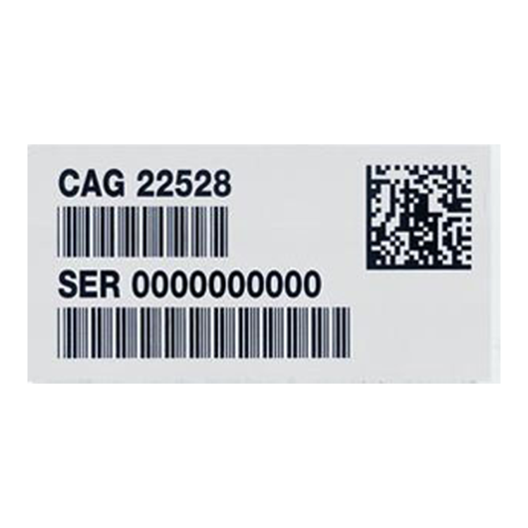Barcode sticker png. Labels asset tags bar
