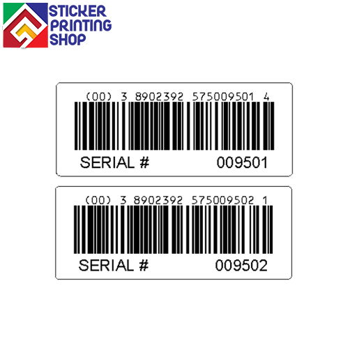 Barcode sticker png. Labels stickers printing custom