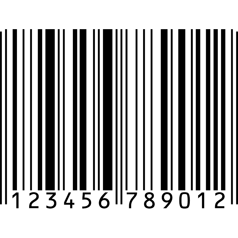 Barcode sticker png. Adhesive code stickers wall