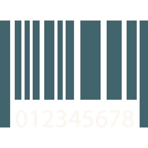 Barcode svg royalty free. Black and white