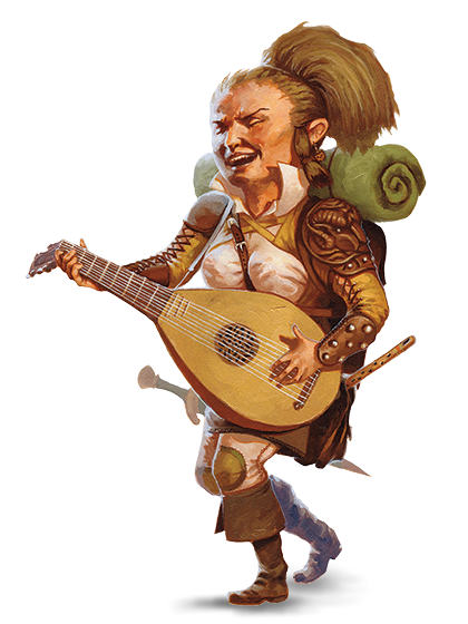 Bard drawing halfling. Forgotten realms wiki fandom