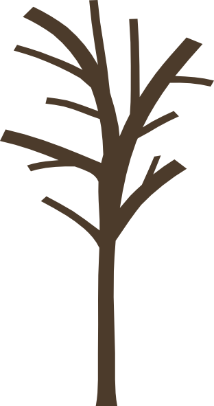 Bare clipart tree silhouette. Clip art at getdrawings
