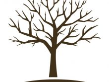 Bare clipart tree silhouette. No leaves trees clip