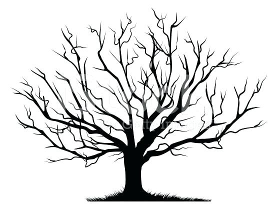 Bare Tree Silhouette Transparent Clipart Free Download