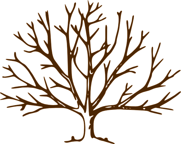 Tree clip art vector. Stick clipart bare branch image free library