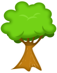 Bark drawing clip art tree. At clker com vector