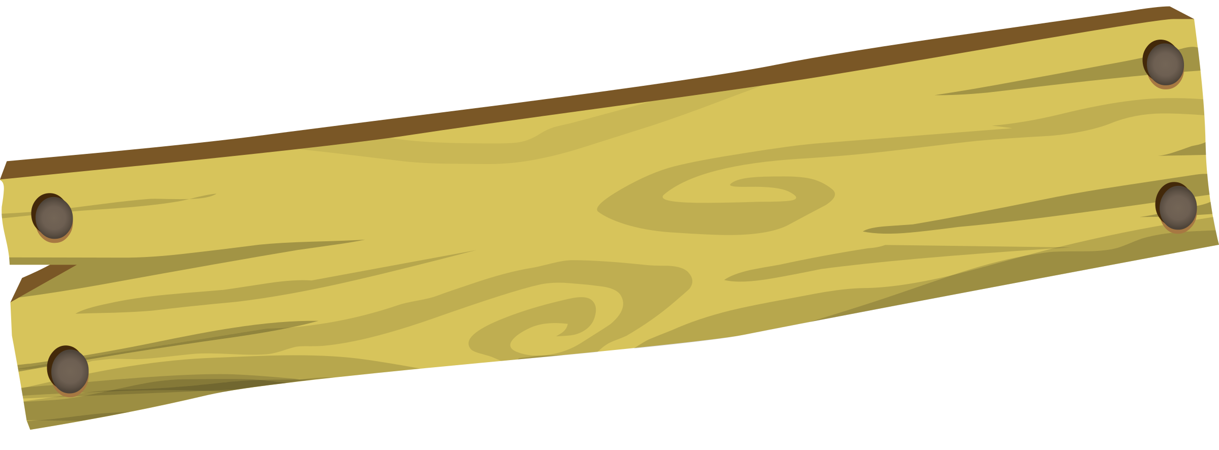Bark drawing wood plank. Clipart slab cute borders