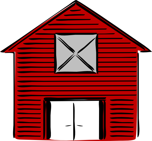 Barn clipart little red. New clip art at