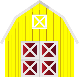 Barn clipart. Yellow clip art at graphic royalty free library