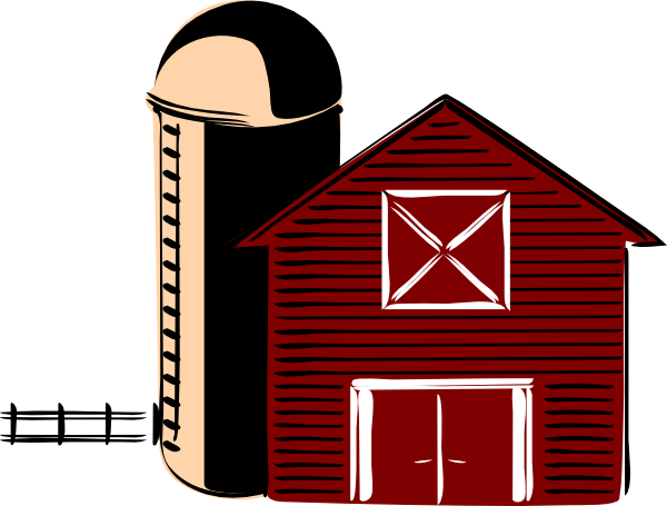 Barn clipart basic. Traditional clip art at