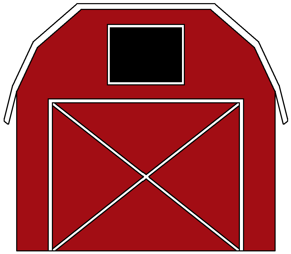 Red barn cliparting com. Outside clipart farm scene png free library