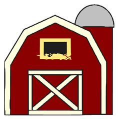 Barn clipart coloring page. With silo greatest book