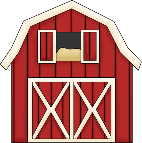 Barn clipart cute. House png black and