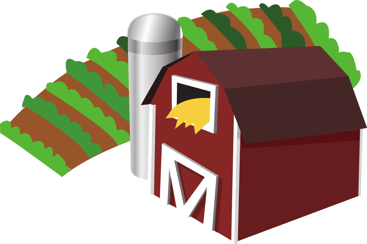 Farm transparent svg free