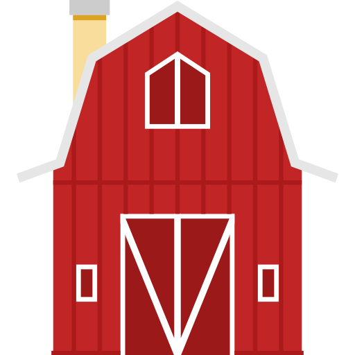 Barn clipart farm shed. Buildings gardening real estate