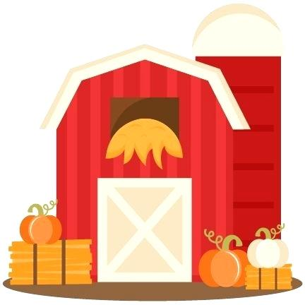 Barn clipart gate. Horse farm at getdrawings