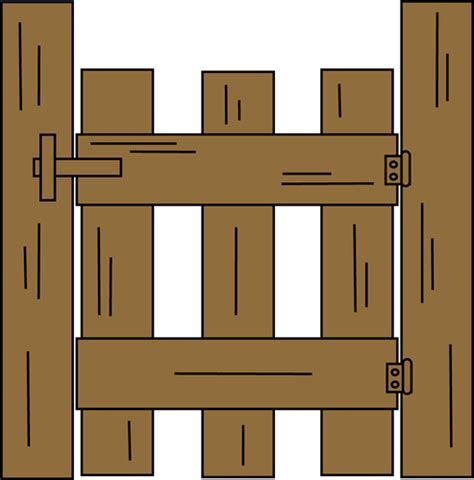Barn clipart gate. Wooden farm png by