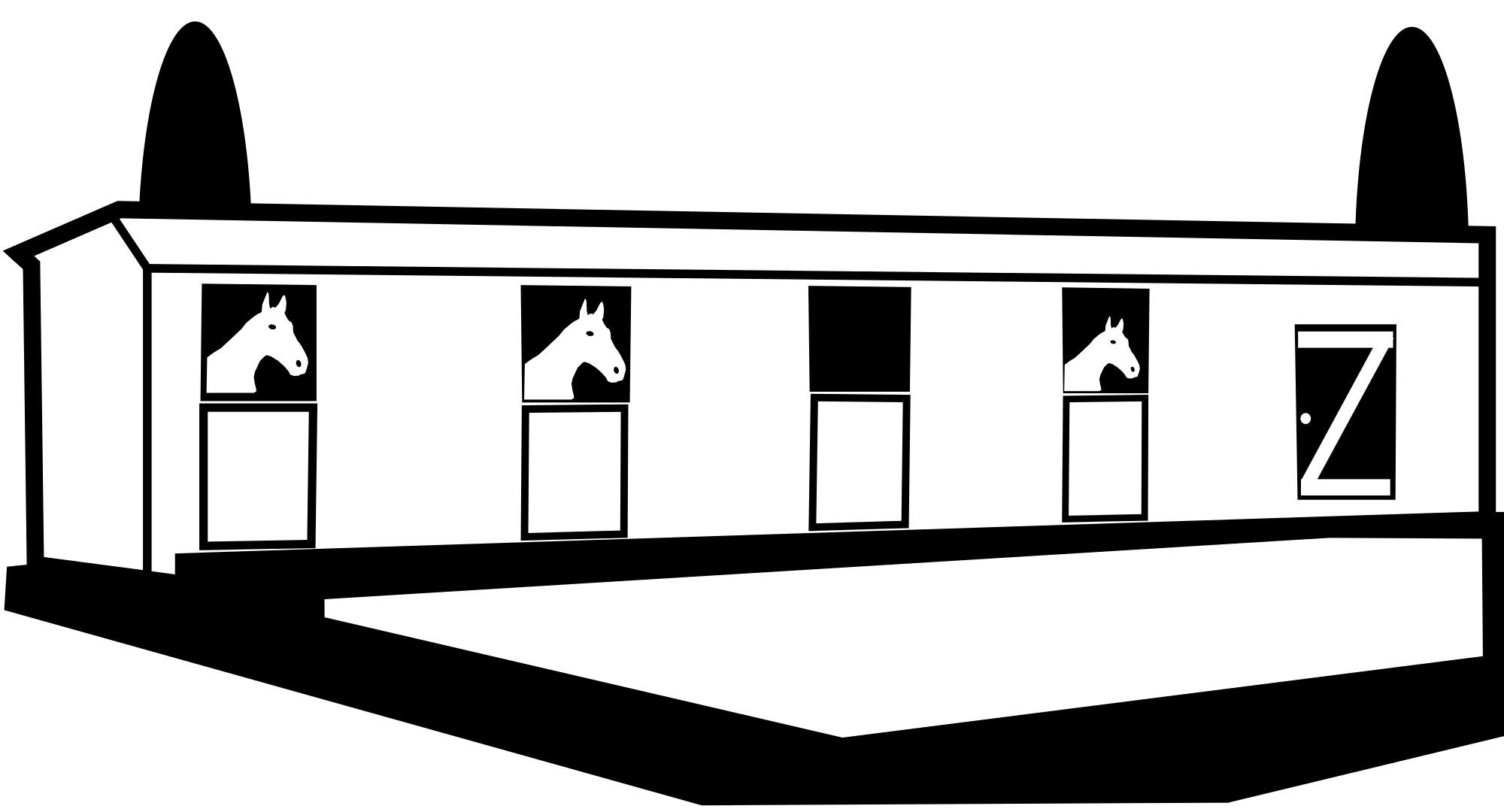 Barn clipart horse shelter. Free stables cliparts download