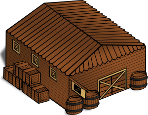 Warehouse clipart 2 storey building. Free stables cliparts download