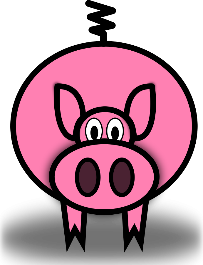 Barn clipart pig. Free pictures of download