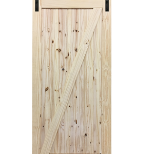 Barn door png. Industrial stainless steel hardware