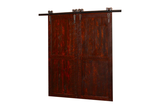 Barn door png. Timber industrial craftsman